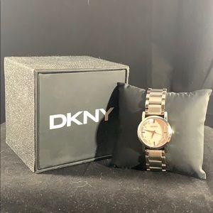 DKNY Stainless & Mother of Pearl Watch (NIB)